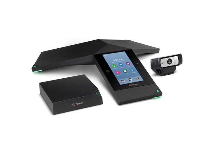 Система видеоконференцсвязи Polycom RealPresence Trio 8800 Collab. Kit (Trio 8800, Visual+, Logitech C930e)